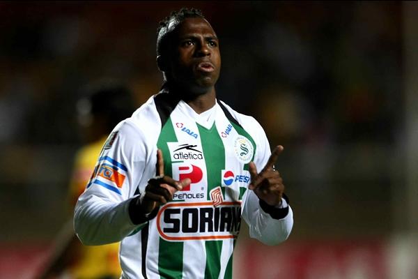 Christian cuando jugaba en el Santos de Torreón.