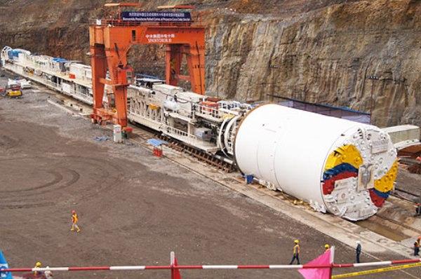 Proyecto Hidroeléctrico Coca Codo Sinclair. Foto de Archivo, La República.