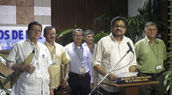 Pablo Catatumbo, Ivan Marquez, Ricardo Tellez