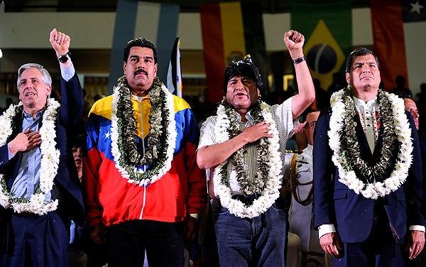 BOLIVIA-LATAM-EU-US-SECURITY-INTELLIGENCE-MORALES-MADURO-CORREA