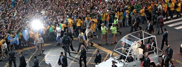 El Papa Francisco, en Río.