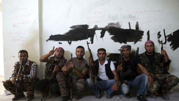 Rebeldes sirios. Foto de Archivo: La República.