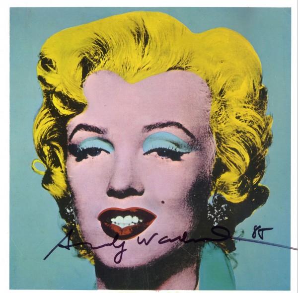 La Marilyn de Warhol.
