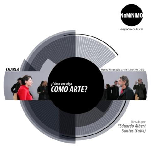 CHARLA COMO VER EL ARTE wb