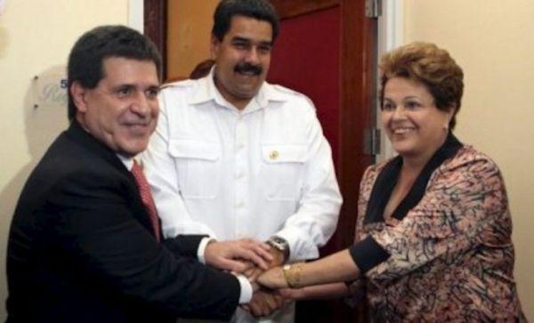 Cartes y Dilma