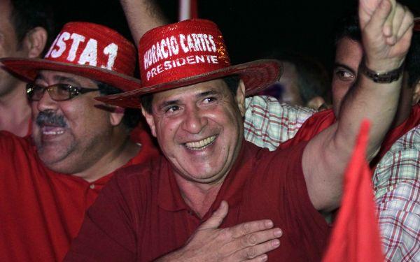 Horacio Cartes (PARAGUAY - Tags: POLITICS ELECTIONS)