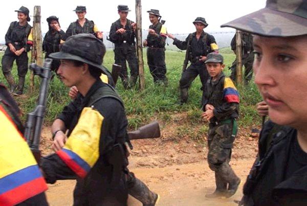 Fuerzas Armadas Revolucionarias de Colombia. Foto de Archivo, La República.