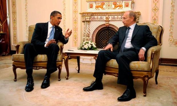 Obama y Putin 1