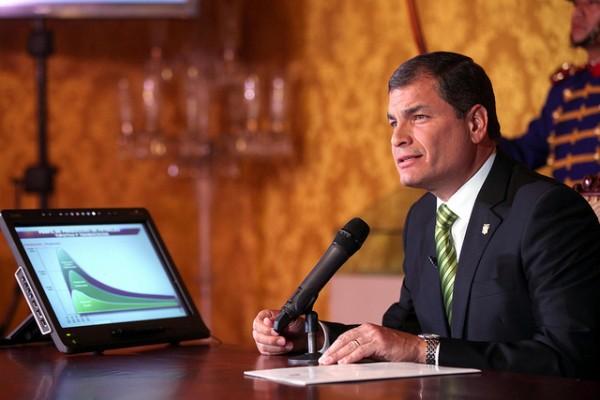 Rafael Correa Yasuni