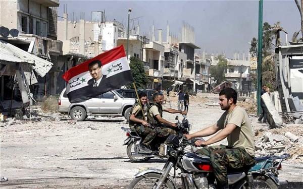 Soldados Siria