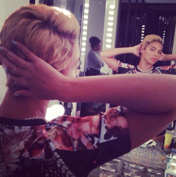 Beyonce y su nuevo look.