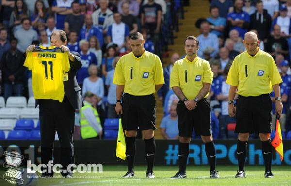 Foto colgada en la web del Birmingham.