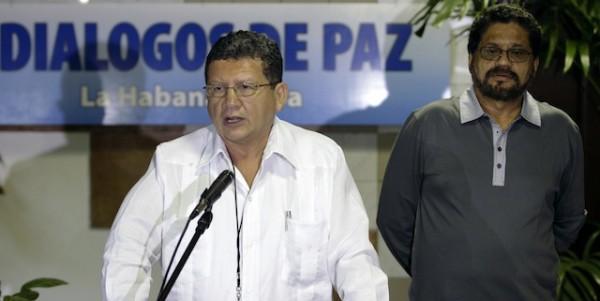 Pablo Catatumbo, uno de los líderes de las Fuerzas Armadas Revolucionarias de Colombia (FARC) (AP foto/Franklin Reyes)