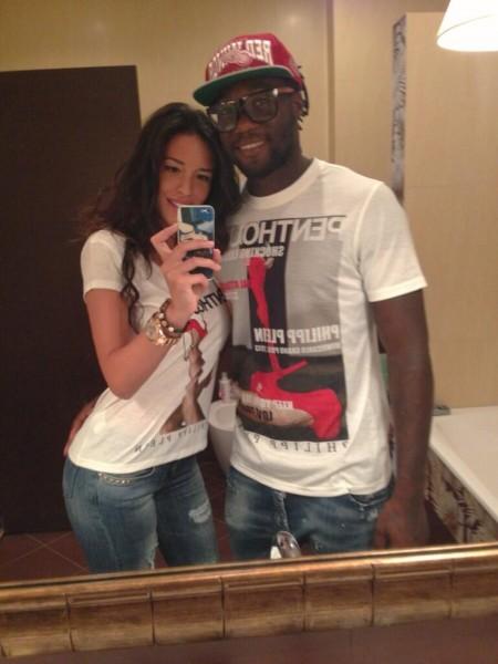 Felipao y su novia. Foto: @Marililma