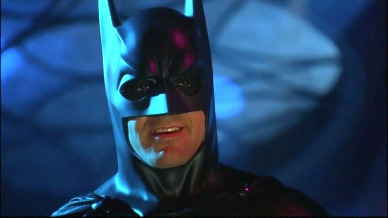 George Clooney, como Batman.