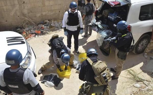 inspectores ONU Siria