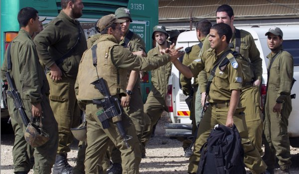 israel reservistas