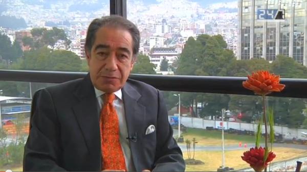 Jorge Ortiz, periodista y conductor del programa 24/7.