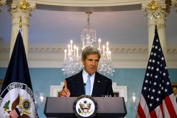 John Kerry. Foto de Archivo: La República.