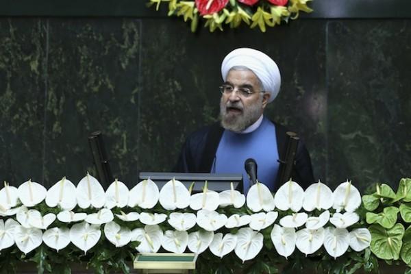 Hasan Rouhani, presidente de Irán.