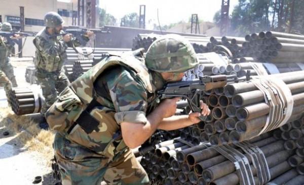 soldados de siria