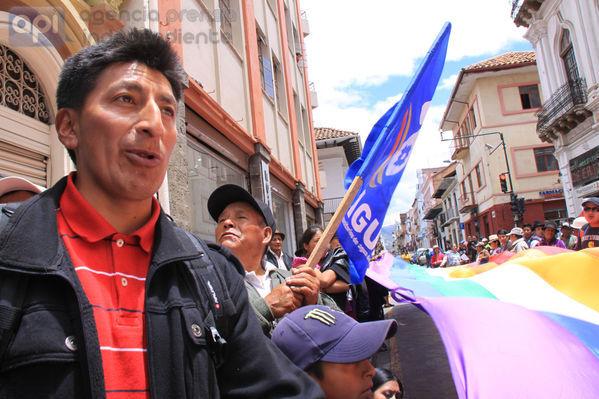 Protestas en el Azuay por el Yasuní