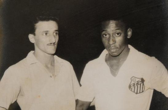 Carlos Raffo y Pelé