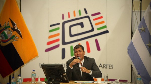 Correa en guayaquil_