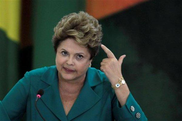 La presidenta brasileña Dilma Rousseff. (Foto AP/Eraldo Peres)