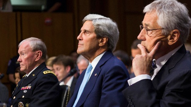 Kerry y Hagel