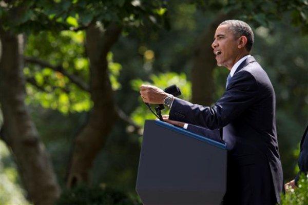 Barack Obama, presidente de los Estados Unidos. Foto de Archivo, La República.