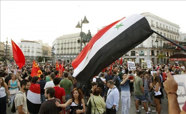 Siria protestas