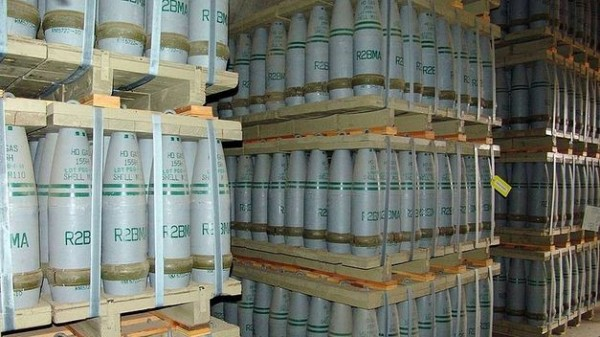 arsenal químico de Siria