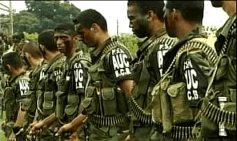Las Autodefensas Unidas de Colombia.