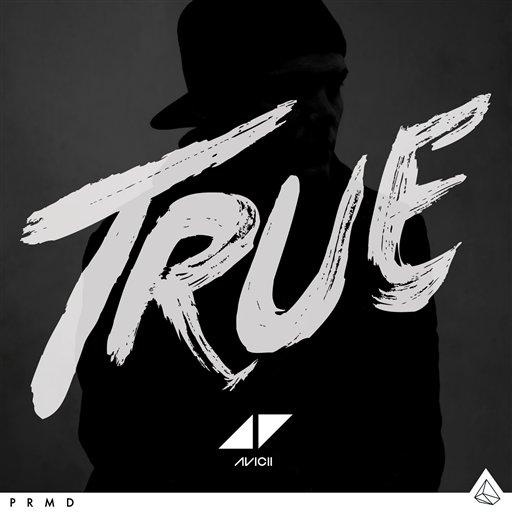 """La portada del disco """"True"""" del DJ sueco Avicii en una imagen proporcionada por Island Records. (Foto AP/Island Records)"""