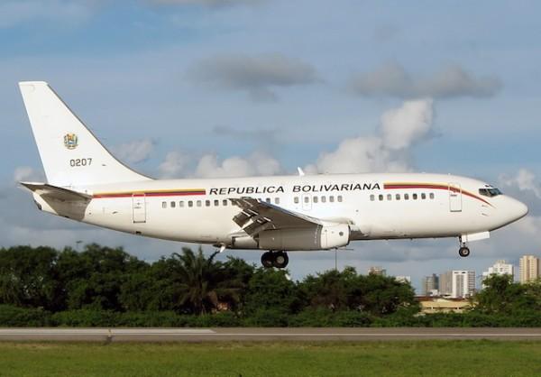 avion venezuela