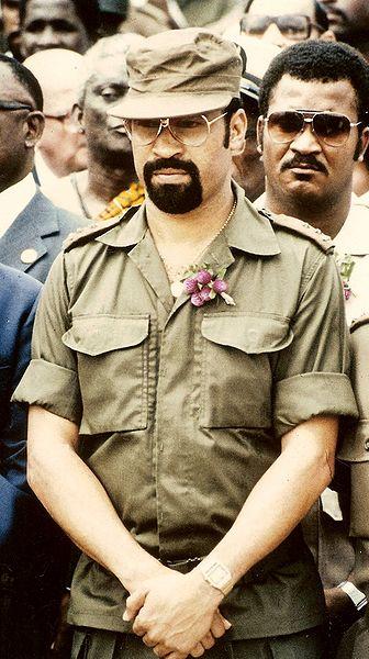 Desi Bouterse, en 1982.