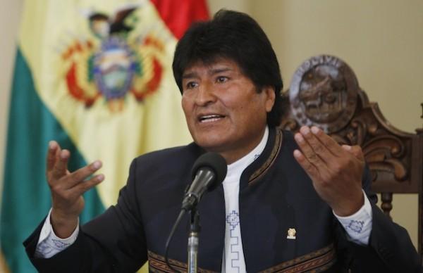 Presidente de Bolivia, Evo Morales. Foto de Archivo, La República.