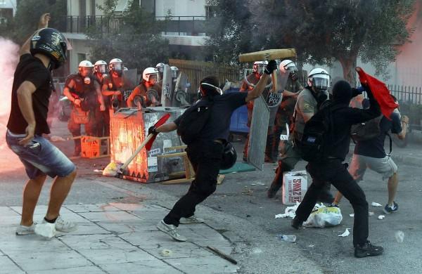 grecia protesta