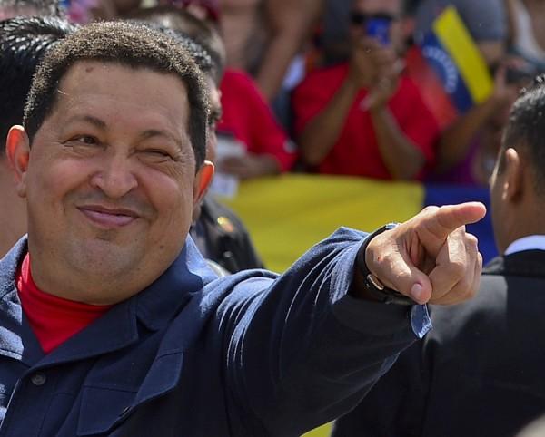 TOPSHOTS 2012-VENEZUELA-ELECTION-CHAVEZ