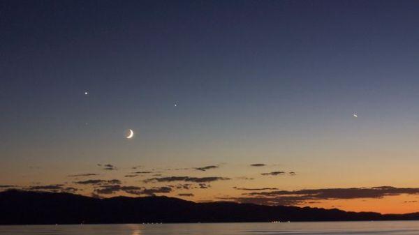 luna venus saturno