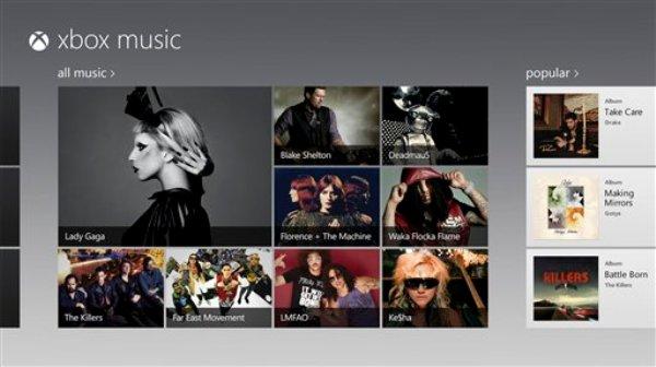 ARCHIVO- Esta imagen de archivo proporcionada por Microsoft Corp. Muestra una imagen de pantalla de su servicio Xbox Music. A partir del lunes 9 de septiembre de 2013, Microsoft pondrá su servicio de transmisión de música Xbox Music a disposición de los usuarios en internet de manera gratuita, aun para aquellos que no usen Windows 8. (AP Foto/Microsoft Corp., Archivo)