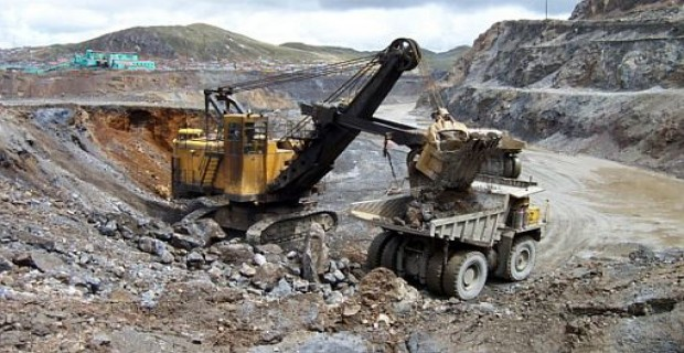 Minería en Ecuador. Foto de Archivo.