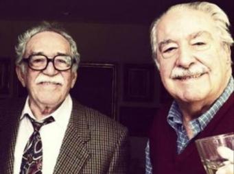 Mutis y su amigo García Márquez.