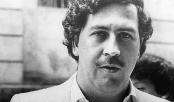 Rostro del capo colombiano del narcotráfico Pablo Escobar.  Foto de Archivo, La República.