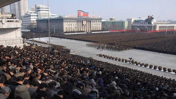 plaza Kim Il-sung