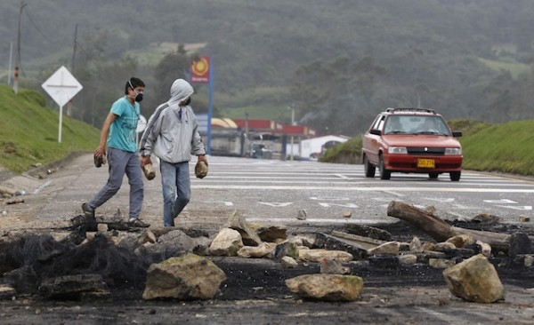 COLOMBIA PROTESTAS
