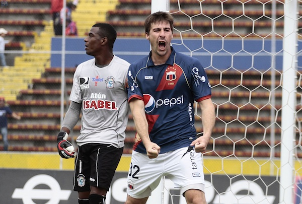 Deportivo Quito gana 1-0 al Manta. API/Juan Cevallos