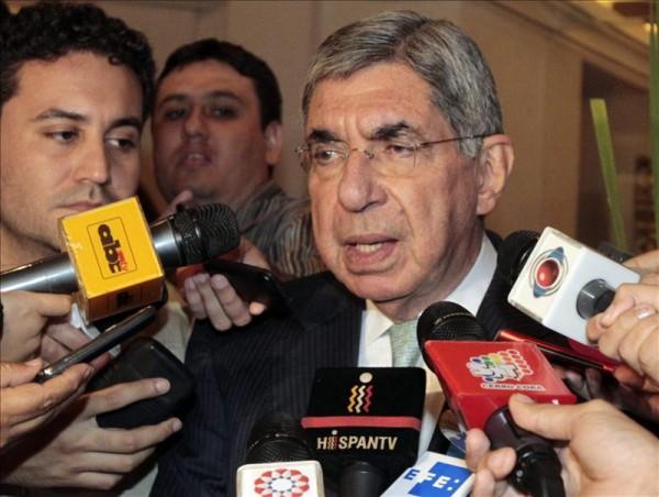 Óscar Arias, ex presidente de Costa Rica y Premio Nobel de la Paz. Foto de Archivo, La República.
