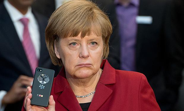 Angela Merkel celular